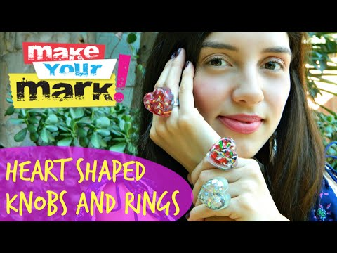 How to Create Heart Shaped Knobs and Rings