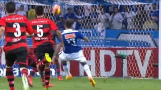 Gol espetacular de Éverton Ribeiro narrado por Luis Roberto - Cruzeiro 2x1 Flamengo 21 08 2013 Rede Globo de Televisão
