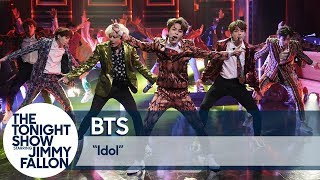 "Video BTS Performs ""Idol"" on The Tonight Show MP3, 3GP, MP4, WEBM, AVI, FLV April 2019"