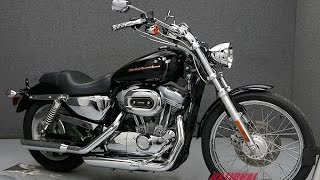 10. 2004  HARLEY DAVIDSON  XL883C SPORTSTER 883 CUSTOM  - National Powersports Distributors