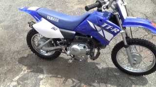 5. 2001 Yamaha TTR 90 - Walk Around, Start, and Ride