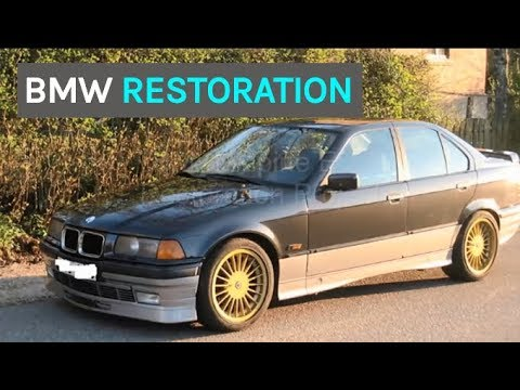 BMW Alpine E36 RESTORATION PROJECT