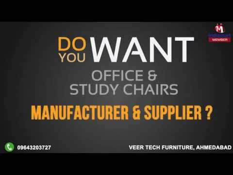 Corporate VideoVeer Tech Furniture   Manufacturer of Leather Office Chairs  . Office Furniture Suppliers In Ahmedabad. Home Design Ideas