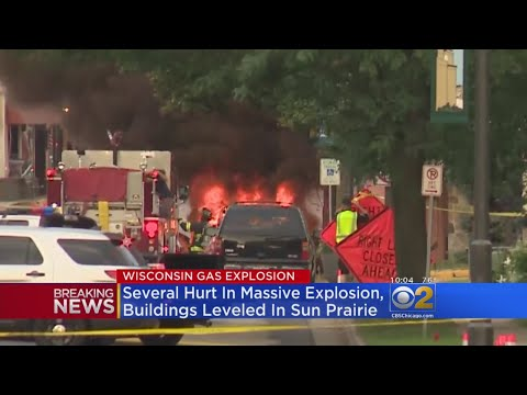 Gas Explosion Near Madison, Wisconsin