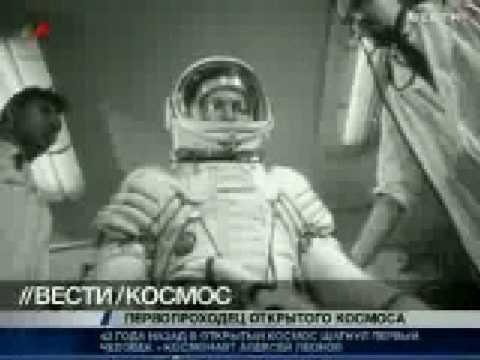 soviet cosmonaut aleksei leonov