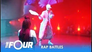 Video Top 3 Best EPIC RAP BATTLES On The Four 2018 - Who Wins? MP3, 3GP, MP4, WEBM, AVI, FLV Juni 2019