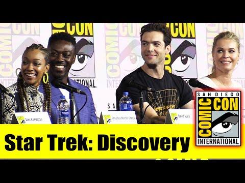 STAR TREK: DISCOVERY   Comic Con 2019 Full Panel (Sonequa Martin-Green, Ethan Peck Rebecca Romijn)