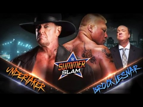 WWE 2K15 PS2: Undertaker Vs Brock Lesnar - SummerSlam 2015