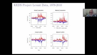 """Phil Schrodt, """"Current Developments in Event Data"""""""