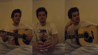 Video John Mayer Gives Blues Guitar Lessons to his fans   Instagram Live Stream  28 March 2018 MP3, 3GP, MP4, WEBM, AVI, FLV November 2018