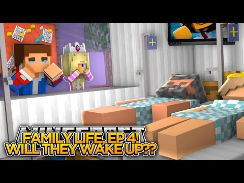 MINECRAFT FAMILY LIFE, (EP 4) - OUR PARENTS ARE DYING!!! - Little Donny Adventures!!