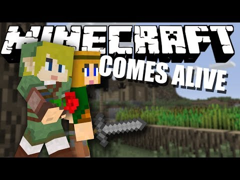 THAT GIRL! Minecraft Comes Alive #2