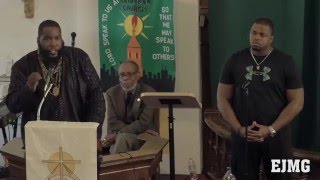 Dr. Umar Johnson - The Biography Of White Supremacy 4/18/15 Chicago