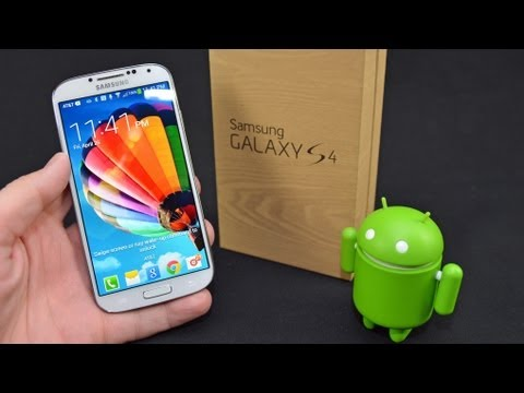 Unboxing The Samsung S4