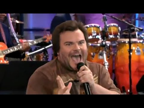 Jack Black Sings | War Pigs | The Tonight Show With Jay Leno