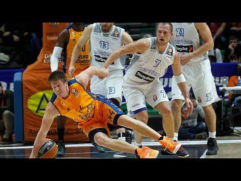 Highlights: Valencia Basket-Neptunas Klaipeda