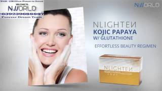 NLIGHTEN KOJIC PAPAYA W/ GLUTATHIONE