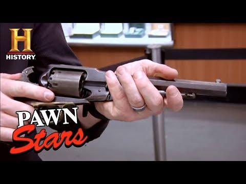 Remington New Model Army .44 (Season 6)   Pawn Stars