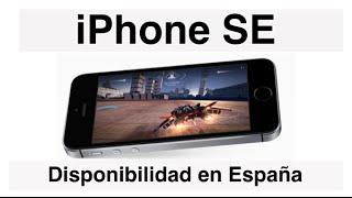 Más información sobre el iPhone SE: https://www.youtube.com/watch?v=pYxCd6zHnAEEl iPhone SE de Apple ya está disponible en la App Store desde el 29 de Marzo, y ya se puede comprar en países como España, Italia, Francia, Suiza, etc. El plazo de entrega desde que lo reservamos está en torno a los 4-6 días, por lo que si lo pides hoy mismo, puedes recibirlo entre el 5 y el 7 de abril.Link para comprar el iPhone SE en la App Store: http://www.apple.com/es/shop/buy-ipho...Si te ha gustado el video dale a LIKE, compártelo en tus redes sociales y suscríbete.También puedes encontrarnos en:Facebook: http://www.facebook.com/pages/configu...Twitter: http://twitter.com/configurarequipNuestra Página Web: http://www.configurarequipos.com