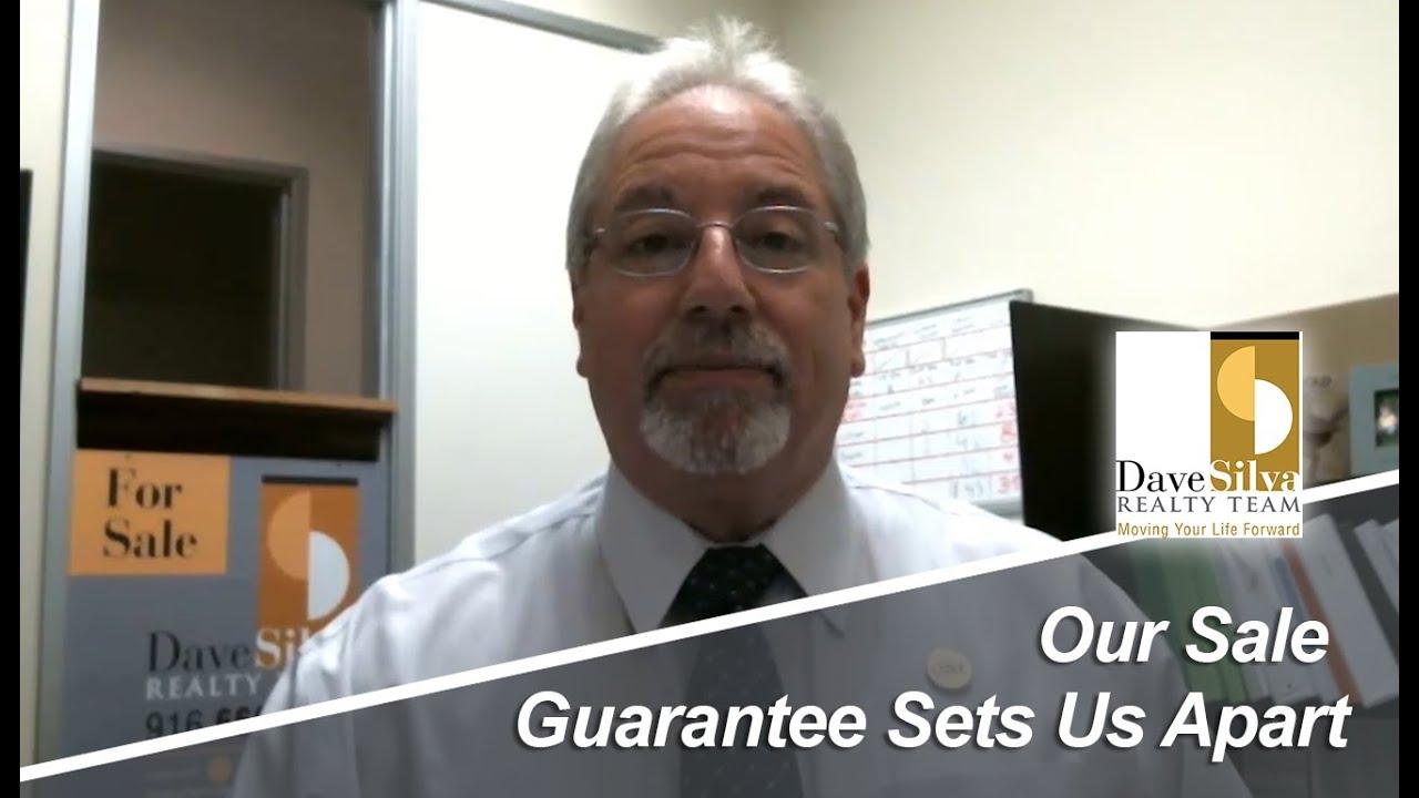 Our Sale Guarantee Sets Us Apart