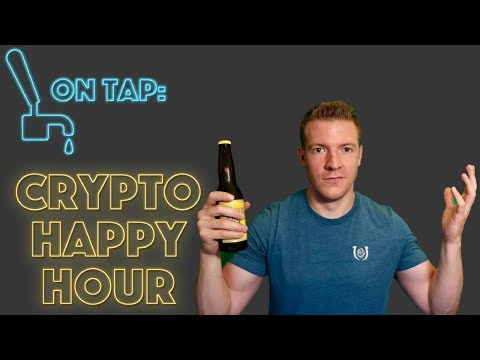 Crypto Happy Hour - EtherDelta, Coinbase Additions and Brews video