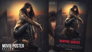 In this tutorial, you will learn how to create a movie poster with grunge texture in Photoshop. Enjoy and thanks for watching!More Photoshop Tutorials: http://www.youtube.com/c/MirRom14Tutorial Resources:Vampire Hunter by AshleyShyD: http://ashleyshyd.deviantart.com/art/Vampire-Hunter-1-138191756City : https://pixabay.com/en/architecture-buildings-city-1850129/Rock: https://pixabay.com/en/rock-river-stone-nature-water-2147358/Wall : https://pixabay.com/en/wall-texture-grey-backgrounds-2319017/Follow Us : Google+ : https://goo.gl/PMkAPNWeb : http://goo.gl/E4vwh4Twitter : http://bit.ly/1RlY5QnFacebook : https://goo.gl/H5m598Music Credits:Living Voyage by Kevin MacLeod is licensed under a Creative Commons Attribution license (https://creativecommons.org/licenses/by/4.0/)Source: http://incompetech.com/music/royalty-free/index.html?isrc=USUAN1100594Artist: http://incompetech.com/