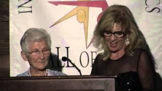 This video is about Johanna Quass, Nadia Comaneci Award, International Gymnastics Hall of Fame.