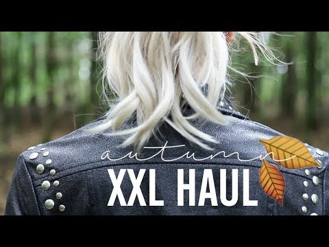 XXL TRY-ON Herbst HAUL | PIA