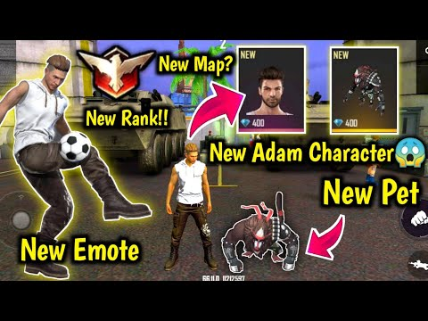 Advance Server First Look🤯🔥New Map & Pet ,New Adam Character & Emotes,Rank Change सब बदल गया !!