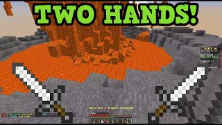 Minecraft 1.9 Update - TWO HANDS & SPECTRAL ARROWS (First Gameplay)
