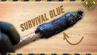 Video We Made Sap and Charcoal Survival Glue MP3, 3GP, MP4, WEBM, AVI, FLV November 2018