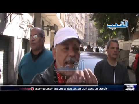 """مهاجمة عمال طنطا للكتان بـ """"المطاوي"""" أثناء اعتصامهم جانب قسم الأزبكية"""