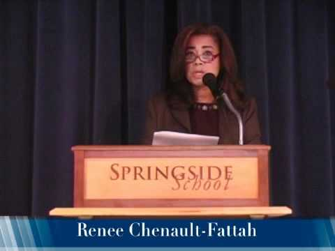 Renee Chenault-Fattah Introducing Justice Breyer