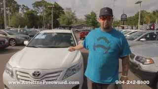 Autoline Preowned 2011 Toyota Camry LE For Sale Used Walk Around Review Test Drive Jacksonville