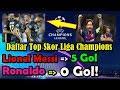 Video Daftar Top Skor Liga Champions 2018/2019   Lionel Messi 5 Gol, Ronaldo 0 Gol!