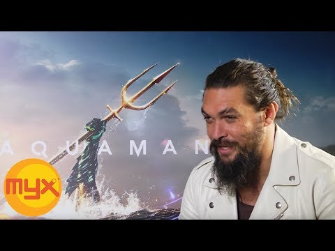 'Aquaman' Star JASON MOMOA Shares Why He Doesn't Want To Cut His Hair