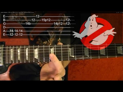 GHOSTBUSTERS Theme – Guitar Lesson