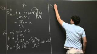 Exam #3 Problem Solving | MIT 18.06SC Linear Algebra, Fall 2011