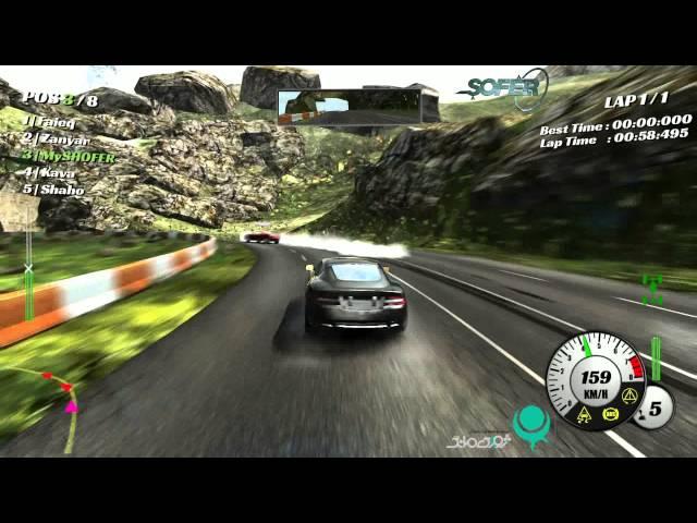 Видео к игре SHOFER Race Driver