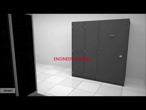 HVAC Close Control Unit CCU Presentation Animation