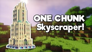 Minecraft: Skyscraper in ONE CHUNK! [Tutorial]
