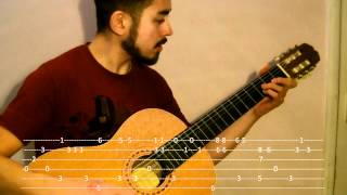 Somebody That I Used To Know by Gotye (Fingerstyle Guitar Lesson with TAB - No Capo)