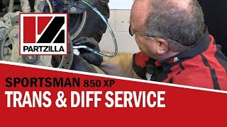 6. How to Change Polaris ATV Transmission Fluid & Differential Fluid | Partzilla.com