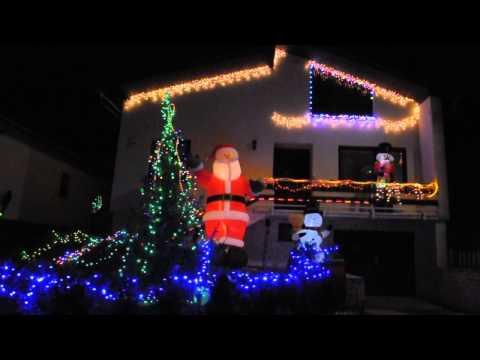 Vianočná výzdoba v susedných Smižanoch prostredníctvom videa