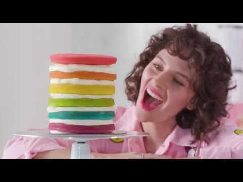 How To Make Flour Shop's Rainbow Explosion Cake | Williams Sonoma
