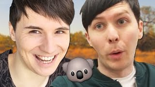 FINAL AUSTRALIAN TOUR TICKETS http://www.danandphiltour.com We venture down under and hang out with a koala called Dewey! SUBSCRIBE: http://www.youtube.com/s...