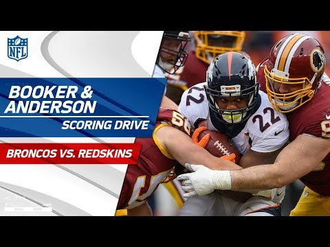 Video: Anderson & Booker Lead Denver Downfield on Scoring Drive! | Broncos vs. Redskins | NFL Wk 16