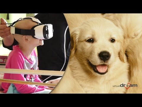 Virtual Dream at Children Oncology Clinics, Hospices and Child Care Homes