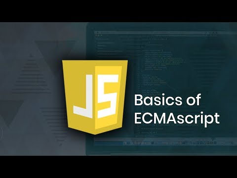 Learn basics of ECMAscript in Javascript | Part 1 | Eduonix