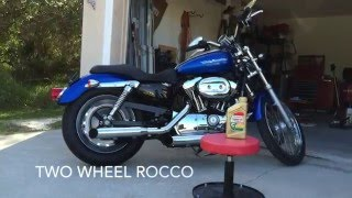 7. How To: Harley Davidson Primary and Transmission Oil Change.